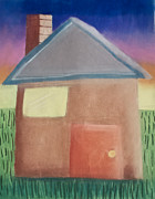 Window Pastels - Angle House by Joshua Maddison