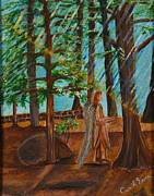 Passionate Paintings - Angle in Idyllwild by Cassie Sears