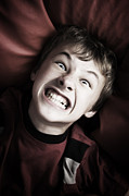 Attitude Photos - Angry boy portrait by Michal Bednarek