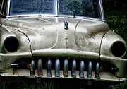 Rusted Cars Art - Angry by Joan Carroll