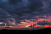 Canvas Photo Originals - Angry Sunset by Michael Waters