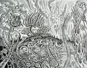 Angst Ridden Print by Steven Bales