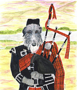 Scottish Originals - Angus the Piper by Stephanie Grant