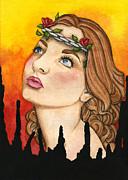 Anima Sola Print by Nora Blansett