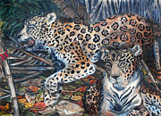 Leopard Pastels - Animal Emotion by Melanie Alcantara Correia