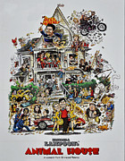 Film Print Framed Prints - Animal House  Framed Print by Movie Poster Prints