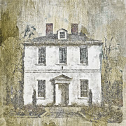 White House Mixed Media Prints - Animal House Print by Trish Tritz