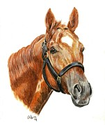 Thoroughbred Race Paintings - Animal Kingdom by Pat DeLong