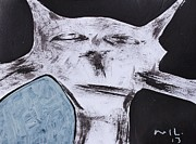 Feline Mixed Media Metal Prints - ANIMALIA Feles no. 7 Metal Print by Mark M  Mellon