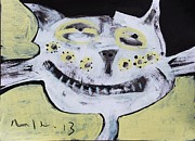 Cat Art Originals - ANIMALIA Feles No. 8  by Mark M  Mellon