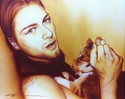 Kurt Cobain Art - Animals are Trapped Theyve All Become My Pets by Christian Chapman Art