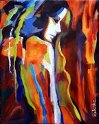 Expressionist Paintings - Animus by Helena Wierzbicki