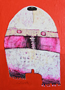 Outsider Art Mixed Media - Animus No 24 by Mark M  Mellon