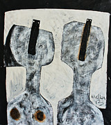 Figures Mixed Media - Animus No.22 by Mark M  Mellon