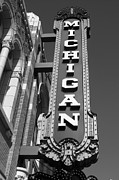 Ann Arbor Framed Prints - Ann Arbor Michigan Theater Framed Print by Justin Reid