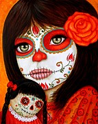 Mexican Holiday Prints - Anna Chiquita Print by Al  Molina