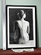 Matting Originals - Anna in waiting by Joseph Ogle