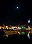 Annapolis Md Prints - Annapolis Maryland Panorama Print by Benjamin Reed
