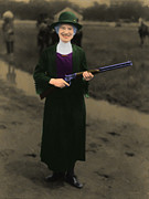 Gunslingers Framed Prints - Annie Oakley 20130514 Framed Print by Wingsdomain Art and Photography