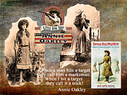 Maureen Digital Art - Annie Oakley by Maureen Tillman