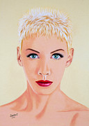 Annie Lennox Framed Prints - Annie Framed Print by Rebelwolf