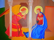 Annunciation Prints - Annunciation Print by Courtney Mauldin