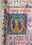 Old Objects Photos - Anonymous Sienese Painter, Psalter by Everett