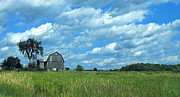 Pennsylvania Barn Print Prints - Another Day Print by Joe Jake Pratt