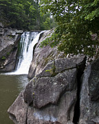 Waterfall Reliefs Prints - Another North Carolina Wonder Print by Brett Price