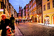 Prague Photos - Another Prague Night - Czech Republic by Madeline Ellis