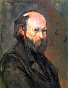 John Peter Posters - Another Self Portrait by Cezanne Poster by John Peter