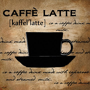 Caffe Latte Posters - Another Sip Poster by Lourry Legarde