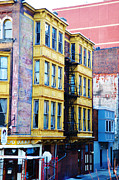 Colorful Buildings Posters - Another Slice of Philly Poster by Bill Cannon