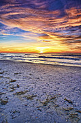 Eyzen Medina Framed Prints - Another Sunset Framed Print by Eyzen Medina