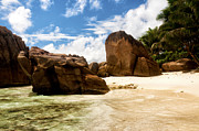 Granite Photos - Anse Patates by Fabrizio Troiani