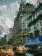 City Scape Paintings - Ansonia Building- NYC by Wade Binford
