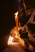 Canadian Photographers Prints - Antelope Canyon Print by Bob Christopher