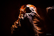 Bill Cantey Framed Prints - Antelope Canyon Light Framed Print by Bill Cantey