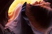 Page Arizona Prints - Antelope Canyon Pages Of Time Print by Bob Christopher