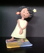 Child Ceramics - Anticipation by Ann Meany