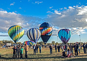 Balloon Aircraft Prints - Anticipation Print by Robert Bales