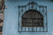 Window Bars Prints - Antigua Window 6 Print by Nichon Thorstrom
