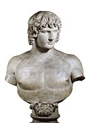 Antique Sculpture Framed Prints - Antinous Or Antinoös. 2nd C. Bc. Roman Framed Print by Everett