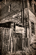 Ghost Signs Prints - Antique Alley Print by Ken Smith