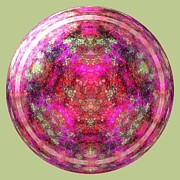 Glass Wall Digital Art - Antique Blown Glass Paperweight by Renee Trenholm