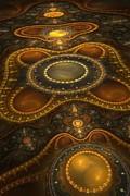 Antique Carpet Print by Jaclyn Hughes Fine Art