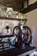 Mills Photos - Antique Coffee Mill by Susan Candelario