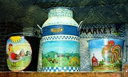 Judy Palkimas - Antique Dairy Milk Can...