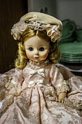 Antiques Mixed Media - Antique Doll by Connie Dye