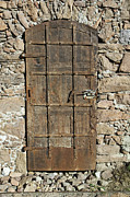 Medieval Entrance Posters - Antique Door Poster by Chevy Fleet